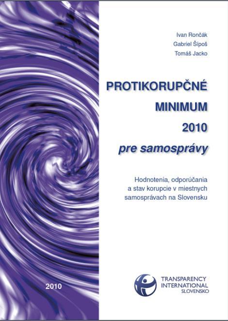 PKM 2010 pre samopspravy obal