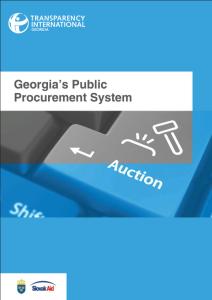 Obalka_procurement_georgia