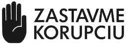 Zastavme korupciu logo partneri