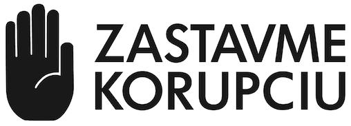 Zastavme korupciu logo