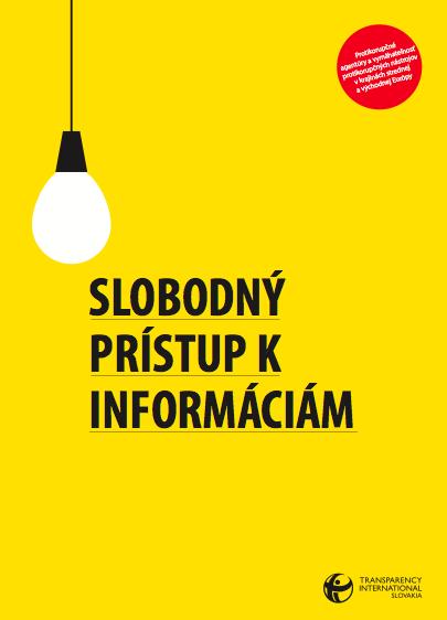 Slobodny pristup k informaciam picture