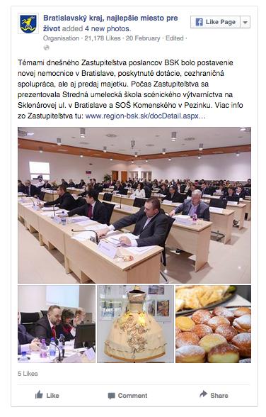 FB Bratislavsky samospravny kraj