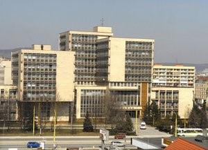Všetky košické súdy sídlia v tejto budove(Judita Čermáková, korzar.sme.sk)